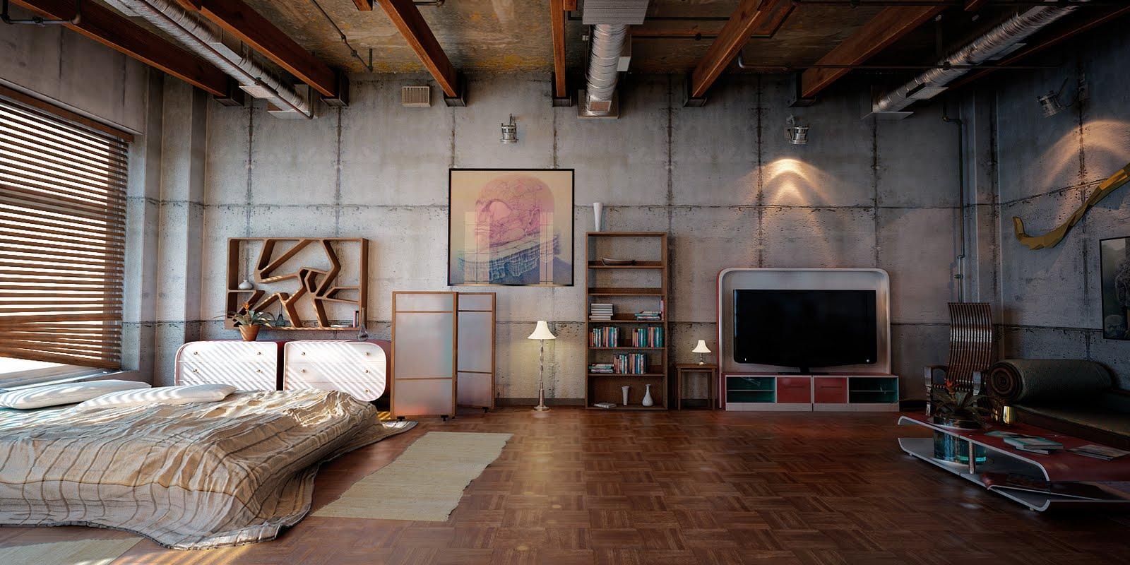 Phong cách nội thất Brutalism mang lại vẻ đẹp độc đáo mới lạ và giản dị