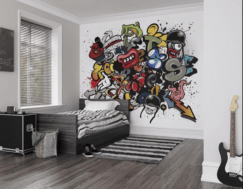 Phong cách Grafiti dành cho những gia chủ có cá tính