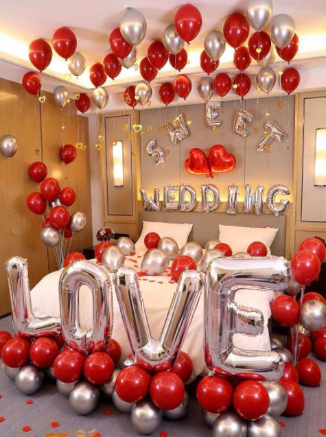 Phòng tân hôn đẹp như một lời chúc phúc ý nghĩa