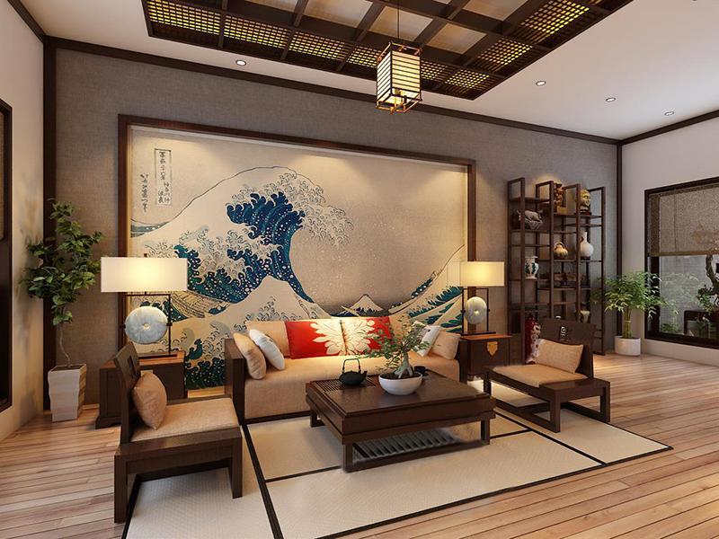 Đèn ốp trần them thêm sức nôi cuốn và vẻ đẹp cho không gian phòng khách