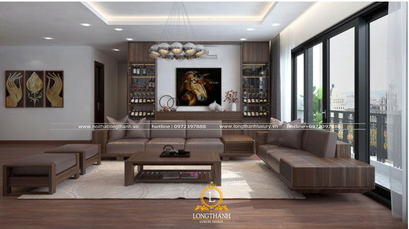 Gỗ tự nhiên là nguyên liệu được đánh giá cao trong nội thất