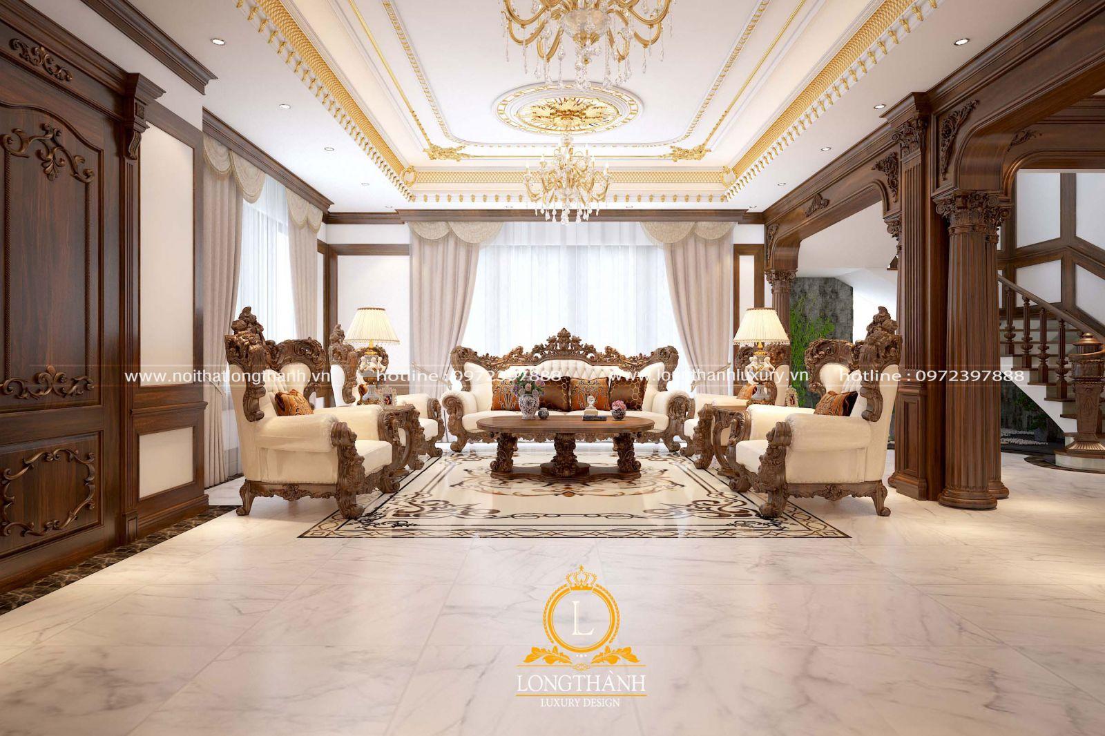 Phòng khách hiện đại thời thượng
