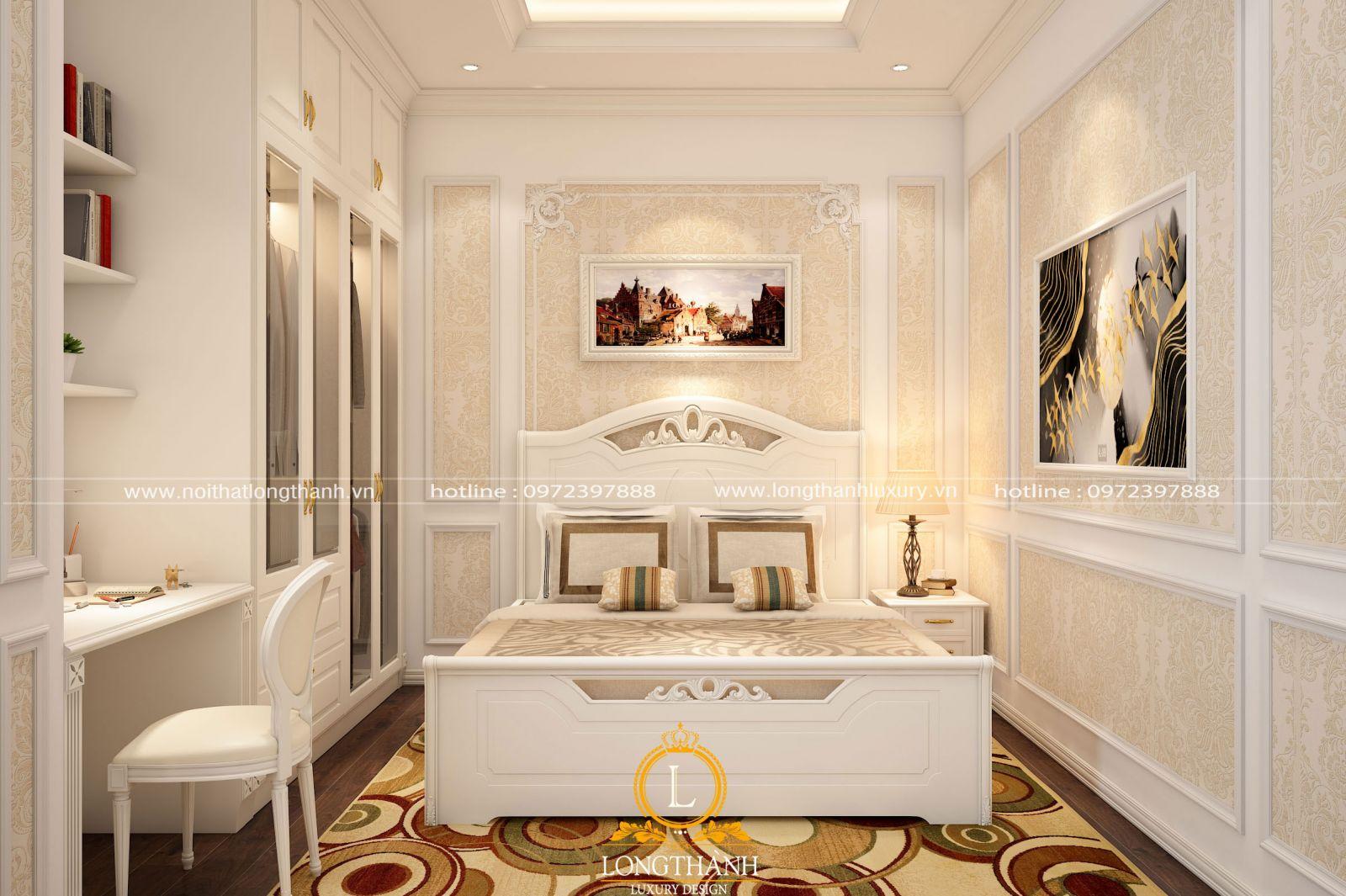 Phòng ngủ con gái đẹp nhẹ nhàng