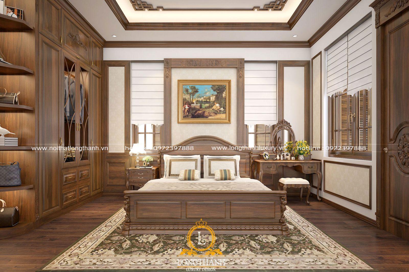 Phòng ngủ đơn giản, nhẹ nhàng với phong cách hiện đại