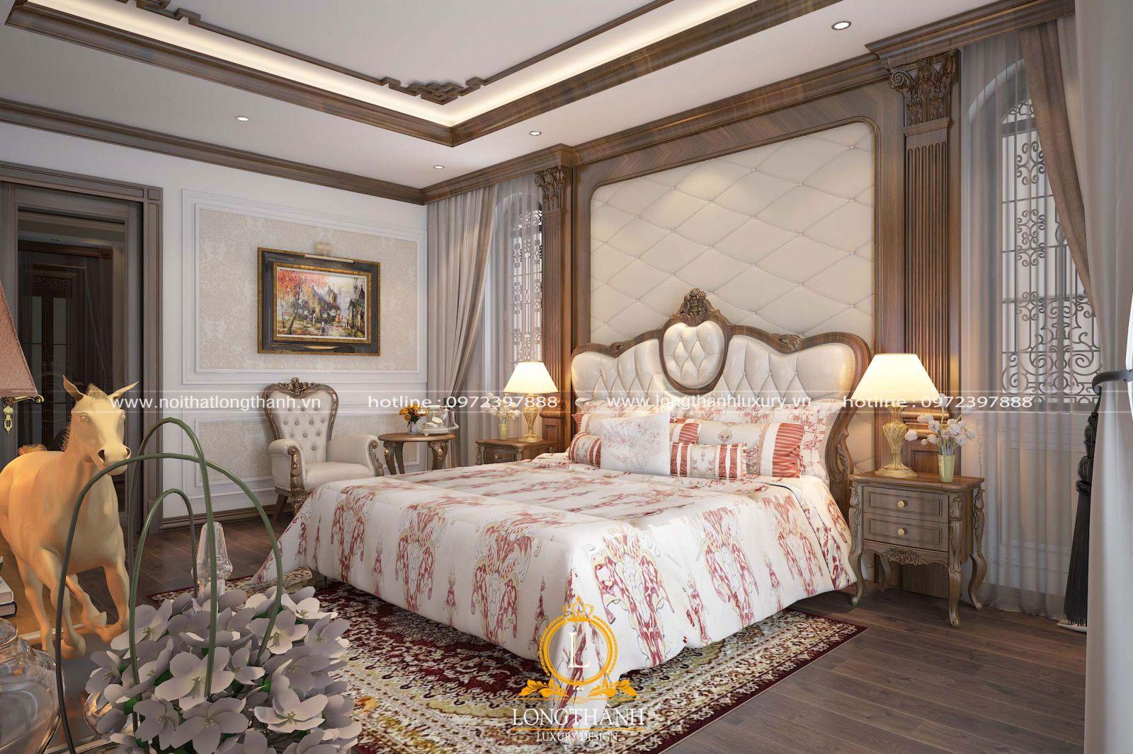 Thiết kế phòng ngủ đẹp cho toàn bộ không gian