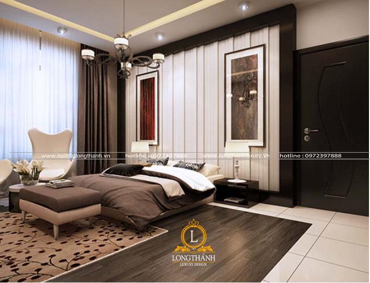 Phòng ngủ hiện đại bố trí độc đáo