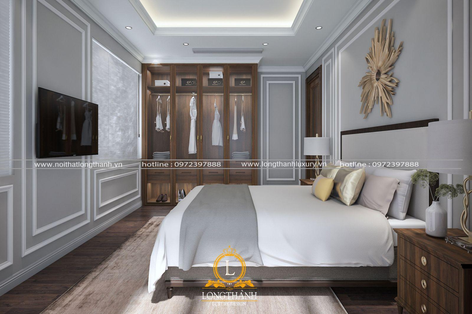 Phòng ngủ nhỏ thiết kế theo phong cách hiện đại