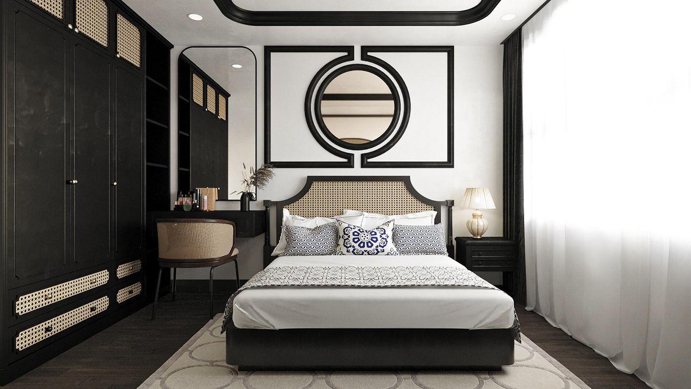 Phòng ngủ Đông Dương