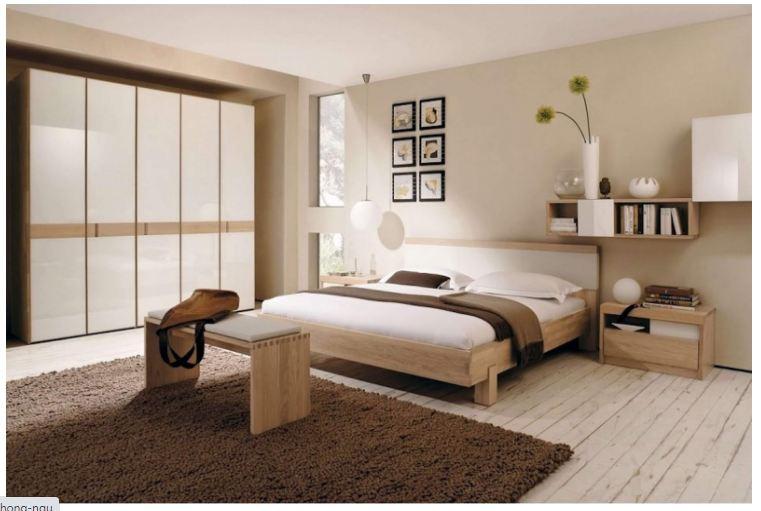 Thiết kế phòng ngủ theo phong cách thiền chất liệu gỗ tự nhiên