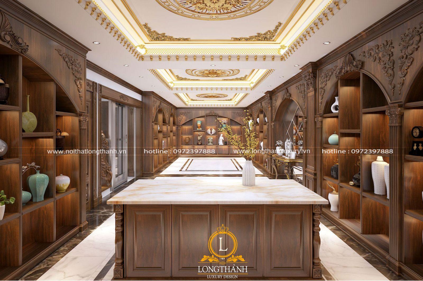 Phòng trưng bày dành cho nhà biệt thự rộng