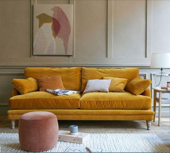 Sofa nỉ có thể tháo rời lớp bọc để vệ sinh