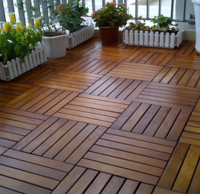 Tấm lót sàn gỗ nhựa