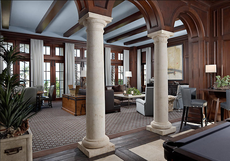 sàn nhà thiết kế phong cách Hy Lạp