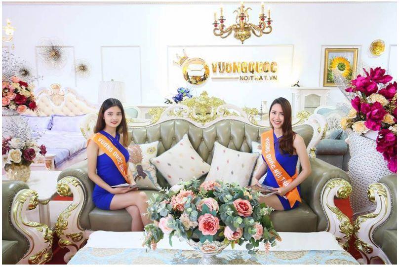 Siêu thị sofa tân cổ điển tại Vương quốc nội thất