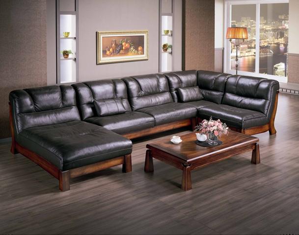 Sofa da thật dễ dàng sử dụng cả mùa đông lẫn mùa hè
