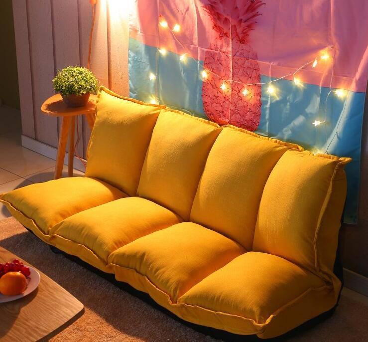 Sofa bed dáng dài nổi bật giữa không gian