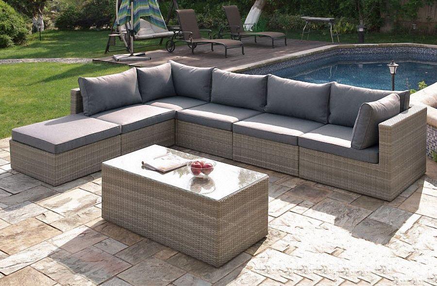 Sofa ngoài trời hiện nay rất phổ biến và đặc bắt gặp ở nhiều nơi khác nhau