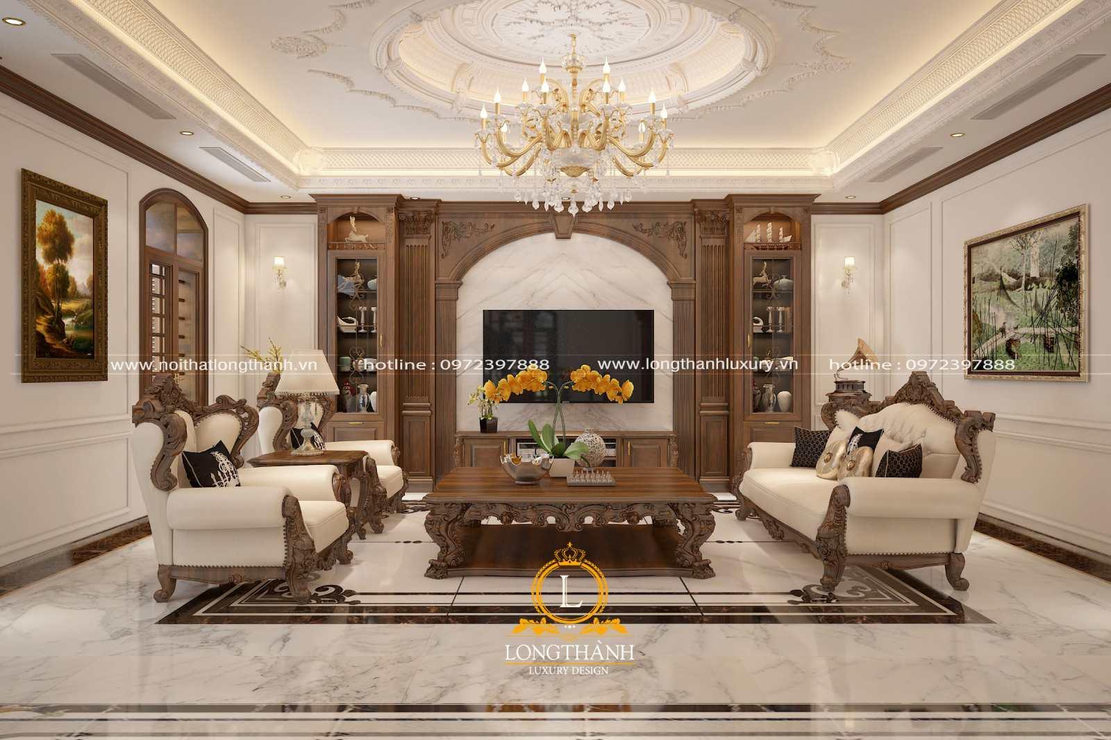 Sofa phòng khách đẹp phù hợp phong thủy và công năng sử dụng