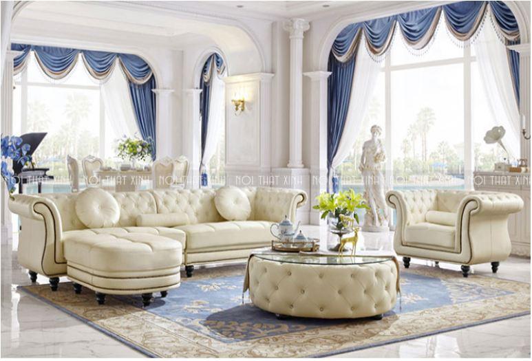 Sofa tân cổ điển tại nội thất xinh