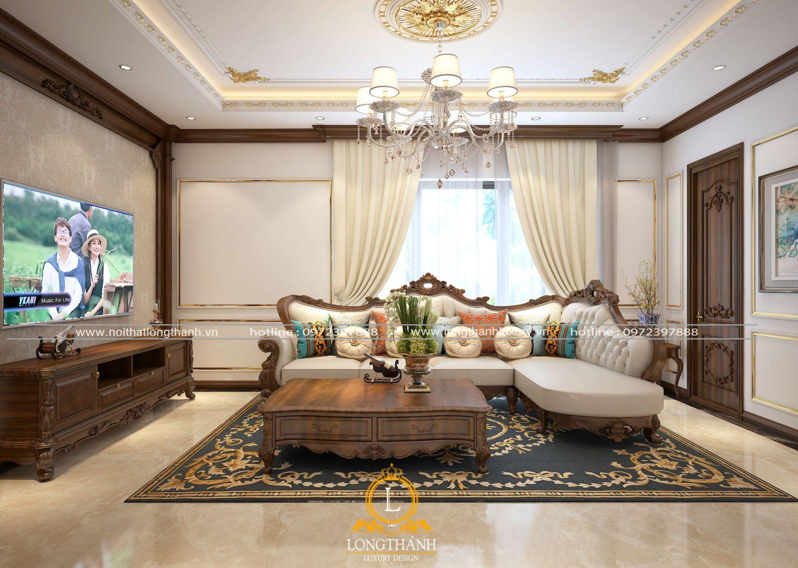 Chọn sofa chữ L cho phòng có diện tích nhỏ