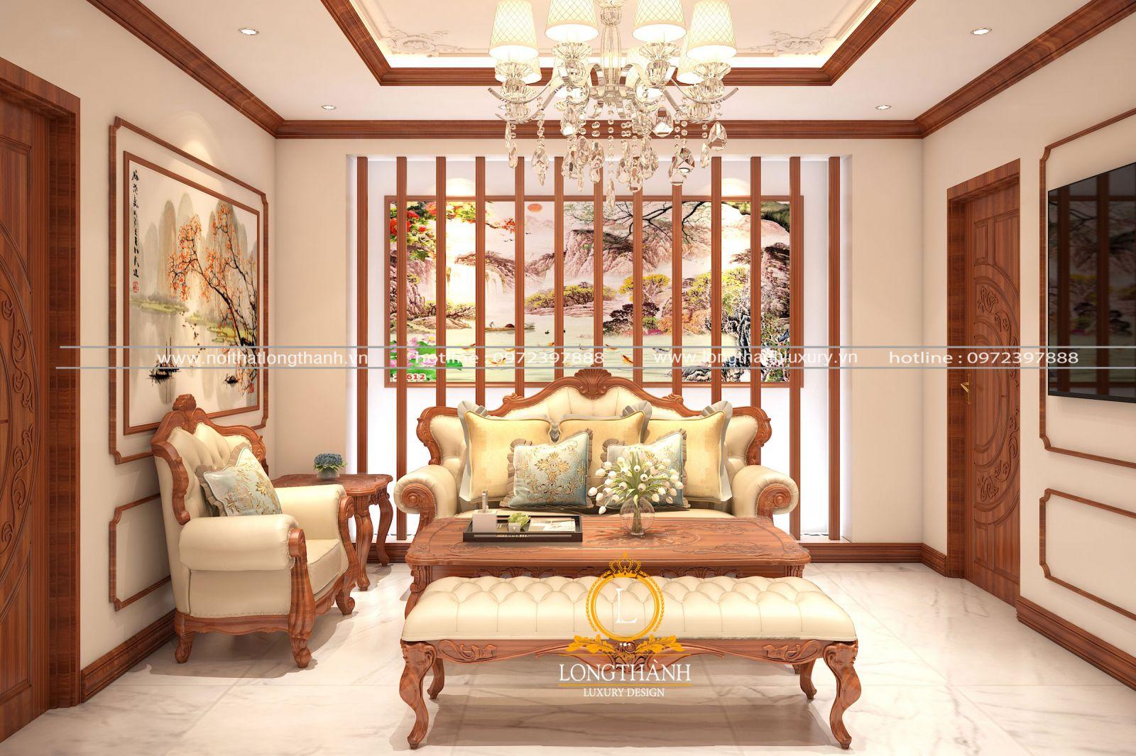 Lựa chọn sofa có màu sắc hài hòa với không gian