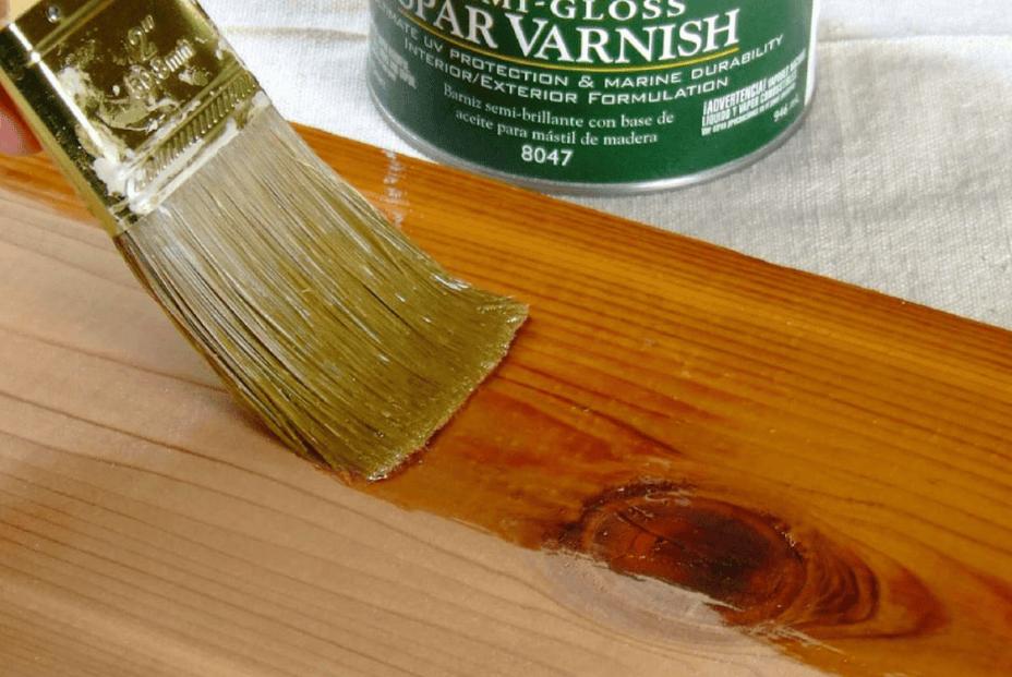 Sơn, đánh vecni cho các món đồ gỗ