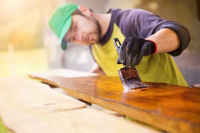 Quá trình thợ sơn dầu thủ công