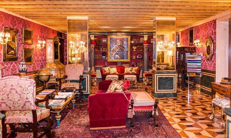 Phong cách thiết kế nội thất cổ điển Châu Âu được bắt nguồn từ Pháp vào thế kỷ 17