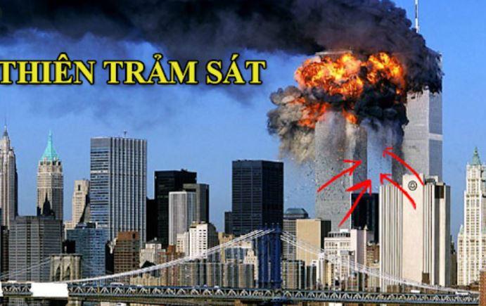 Tòa tháp đôi bị khủng bố đánh bom sập vụ 11/9 phạm thiên trảm sát