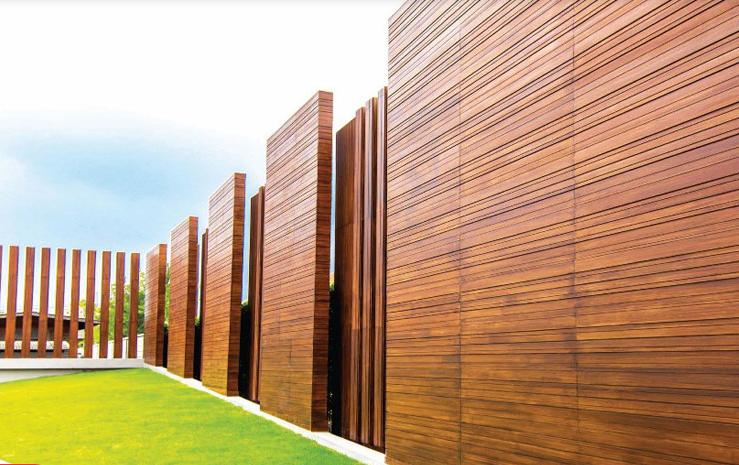 tấm xi măng giả gỗ cao cấp trang trí ngoài trời