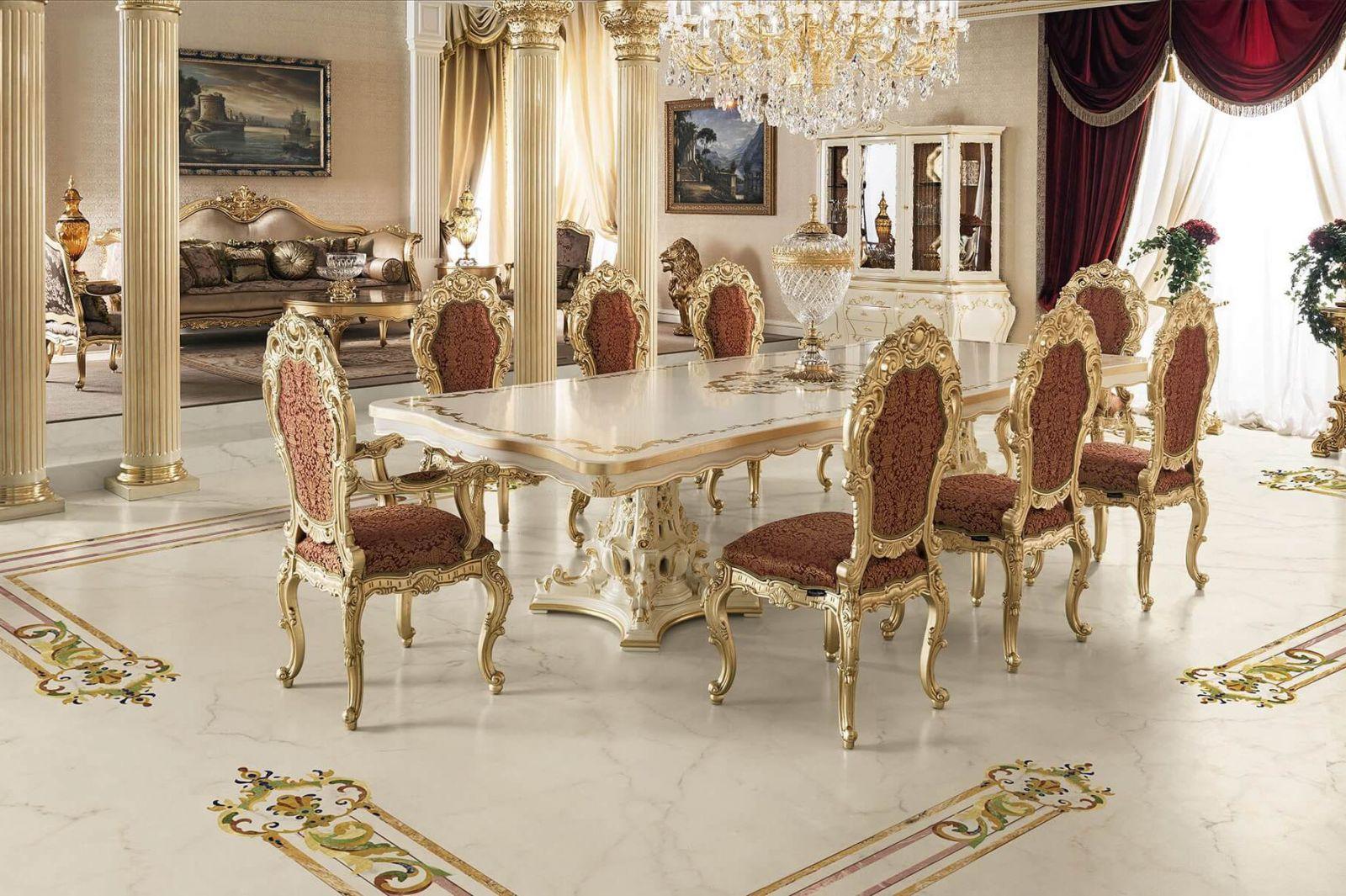 Tận dụng tối đa nguồn ánh sáng tự nhiên cho phòng khách cổ điển