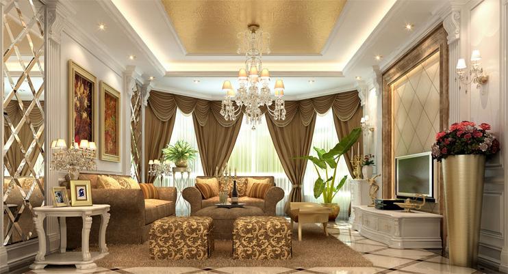 Tận dụng nguồn ánh sáng tự nhiên và nhân tạo cho nội thất chung cư cổ điển