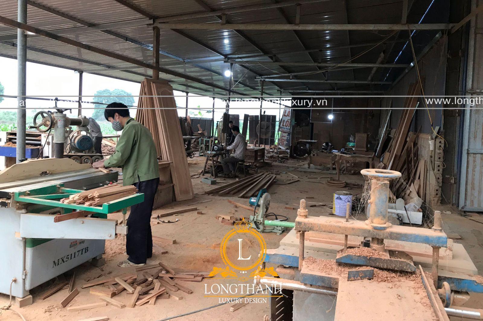 Xưởng sản xuất nội thất trực tiếp
