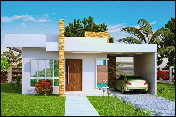 Thiết kế nhà mặt tiền 1 tầng đẹp
