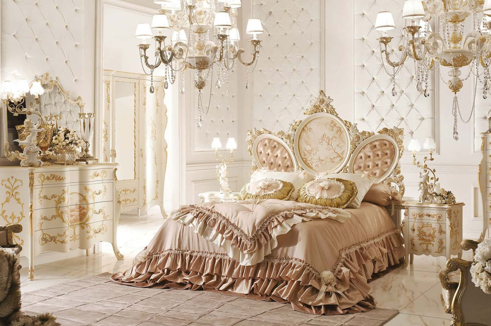 Thiết kế nội thất cổ điển Pháp lộng lẫy