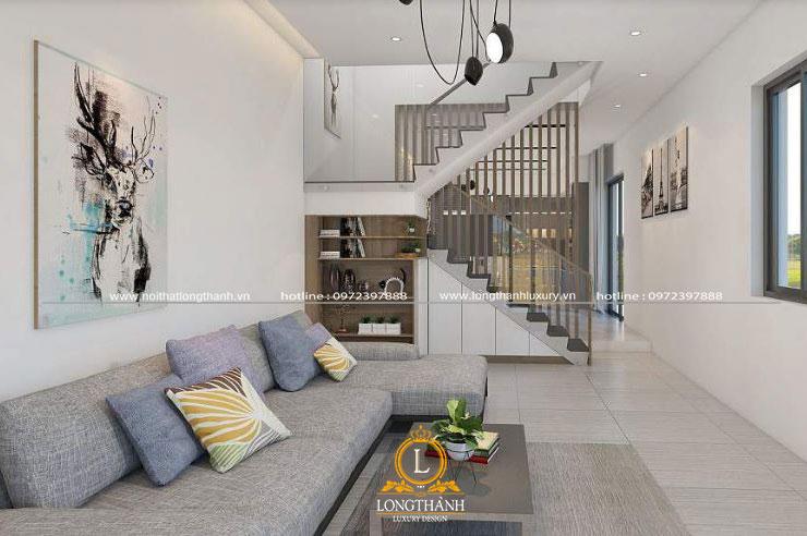 Thiêt kế nội thất nhà phố thiên hướng nhiều hơn theo phong cách hiện đại