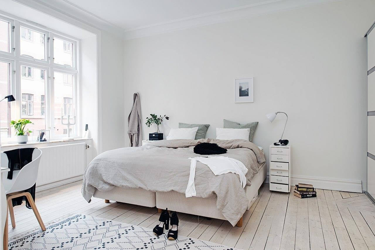 Thiết kế nội thất phong cách Scandinavian với màu sắc tự nhiên thân thiện