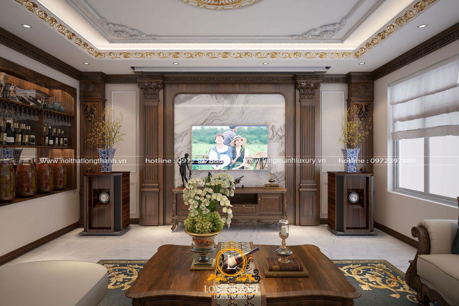 Thiết kế nội thất tân cổ điển luôn hướng đến tỷ lệ vàng cho không gian