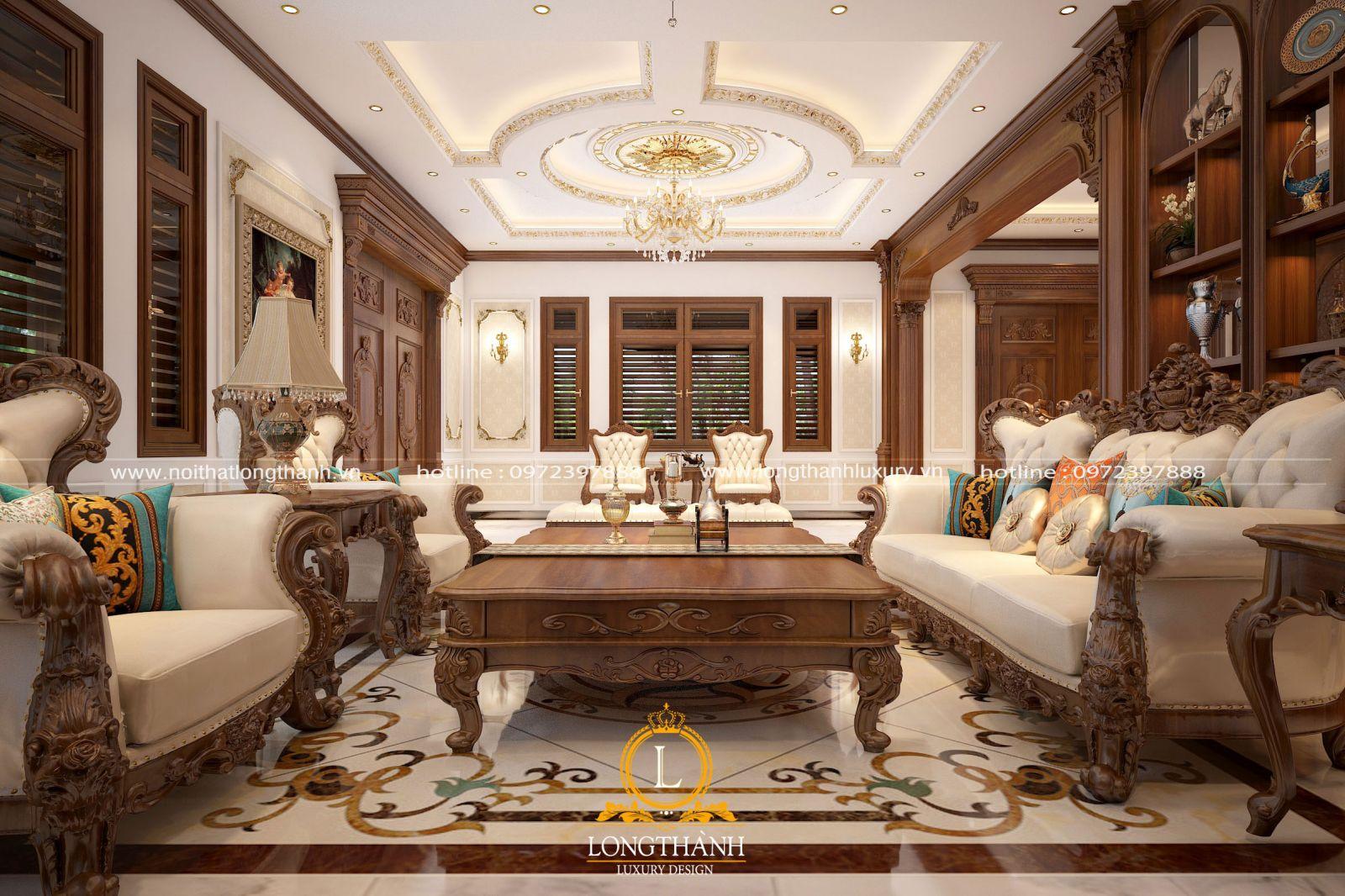 Thiết kế nội thất tân cổ điển tạo nên vẻ đẹp sang trọng đẳng cấp