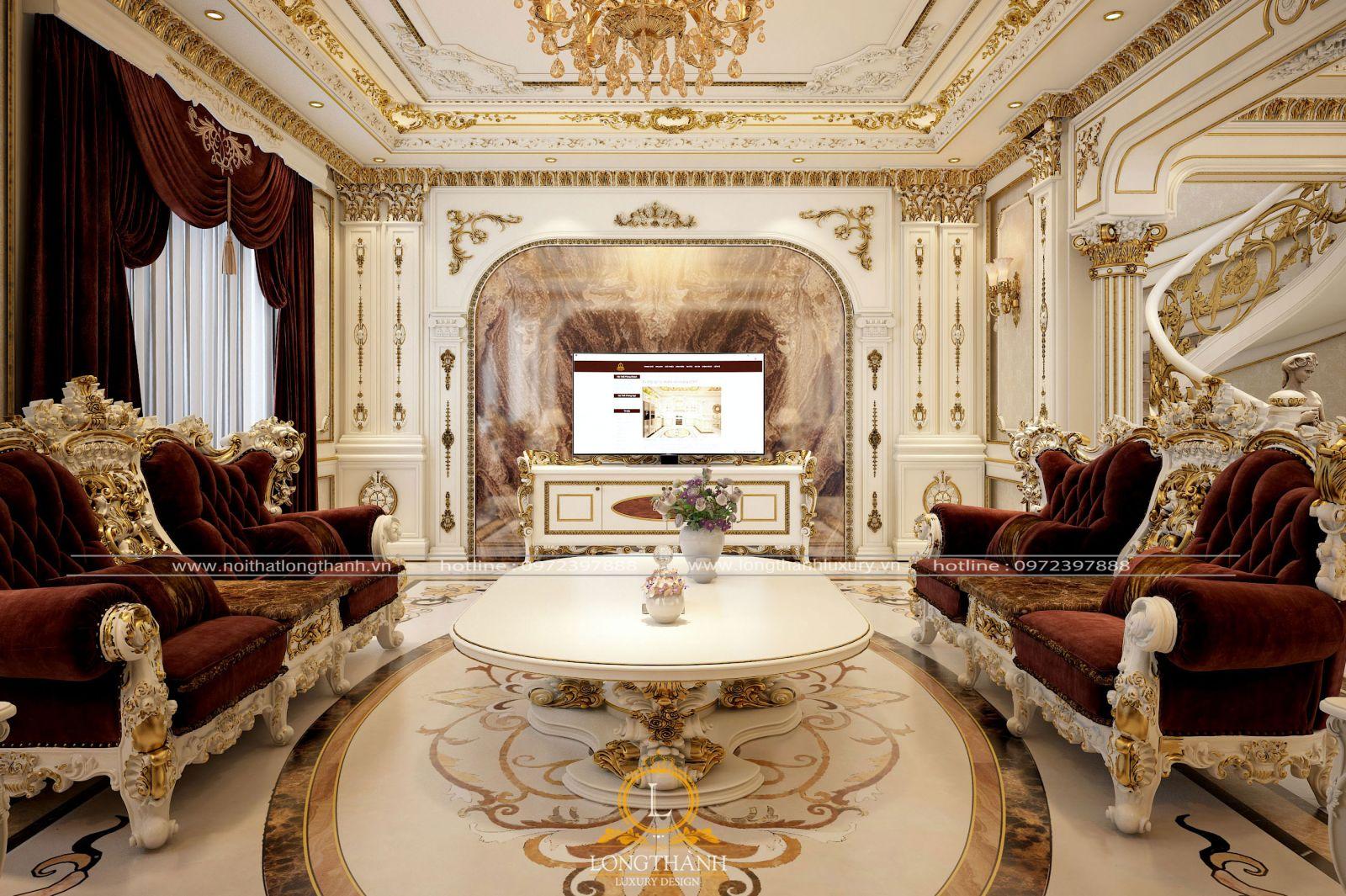 Mẫu mãbàn trà, kệ ti vi đều phù hợp với tổng thể nội thất phòng khách