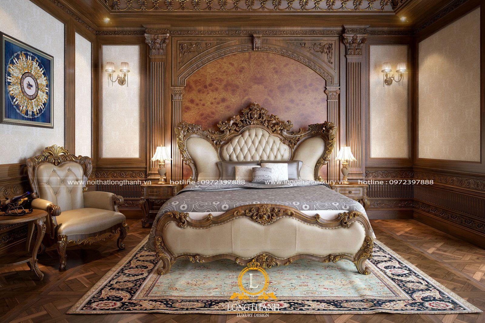 Giường ngủ cổ điển hoàng gia