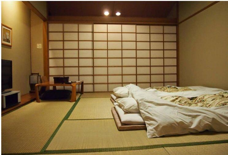 Thiết kế nội thất phòng ngủ đơn giản theo phong cách nội thất Zen