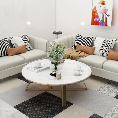 Thu hút với mẫu bàn sofa tròn độc đáo