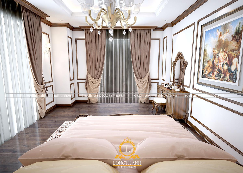 Nội thất phòng ngủ tân cổ điển hài hòa tự nhiên