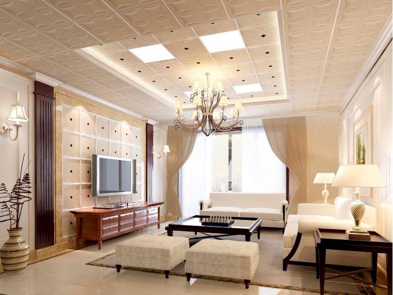 Thiết kế trần nhà làm từ chất liệu nhôm cao cấp