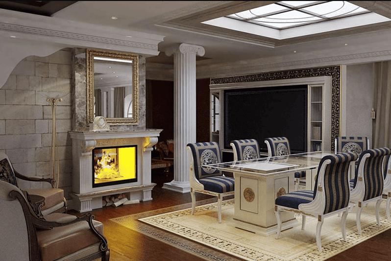 Trang trí nội thất Hy Lạp