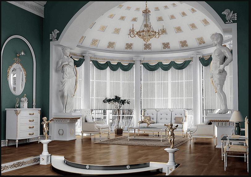 Trang trí nội thất nhấn mạnh vào quá khứ lịch sử