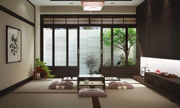 Thiết kế trang trí nội thất theo kiểu Nhật đơn giản tiện lợi