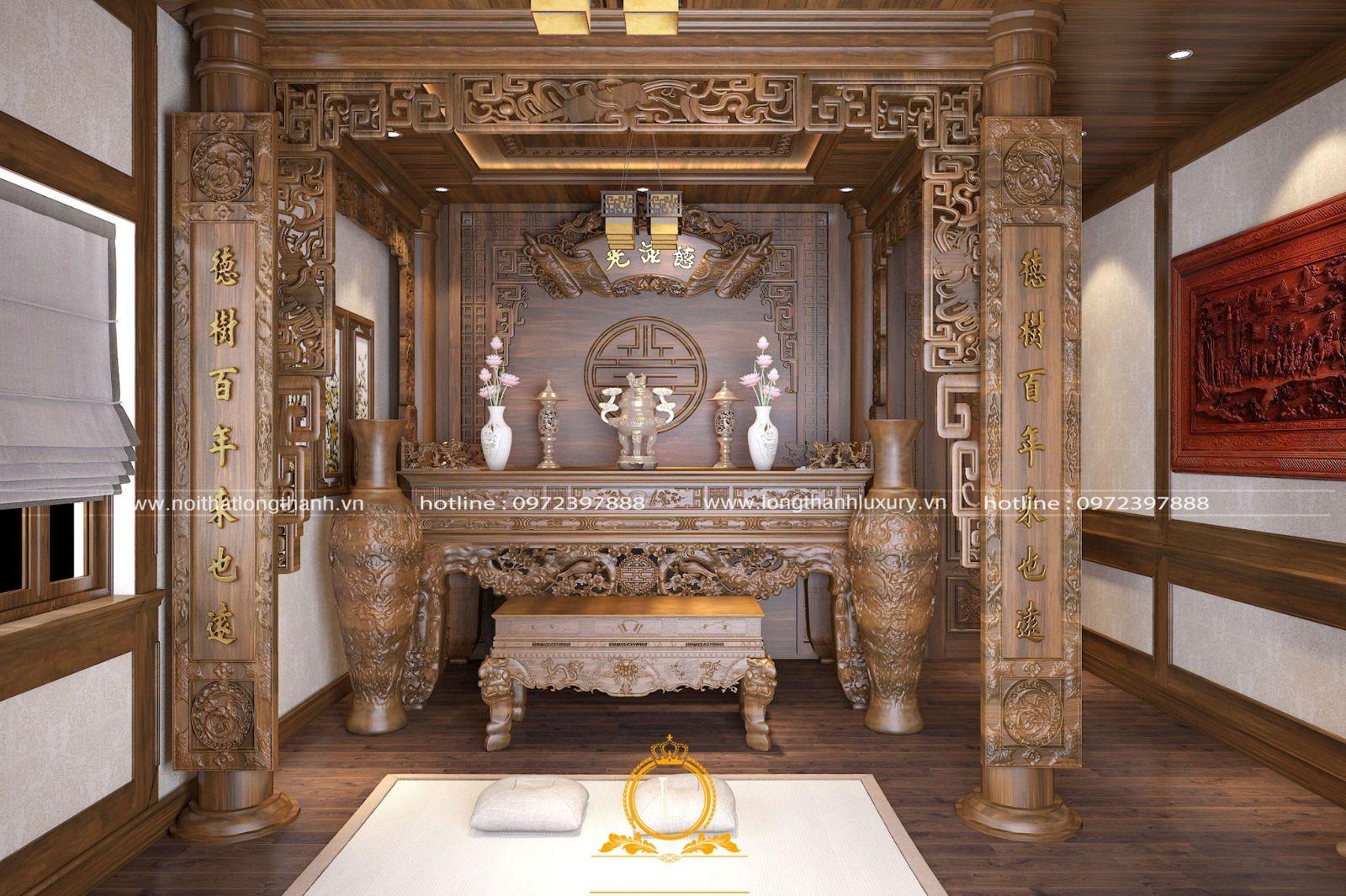 Trong phòng có thể sử dụng cây xanh hoặc lục bình làm trang trí