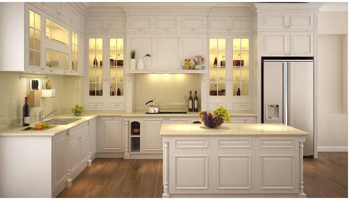 Tủ bếp gỗ acrylic có nhiều ưu điểm nổi bật so với các loại tủ bếp khác